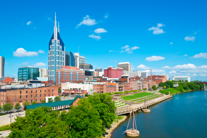 where to live in nashville tn