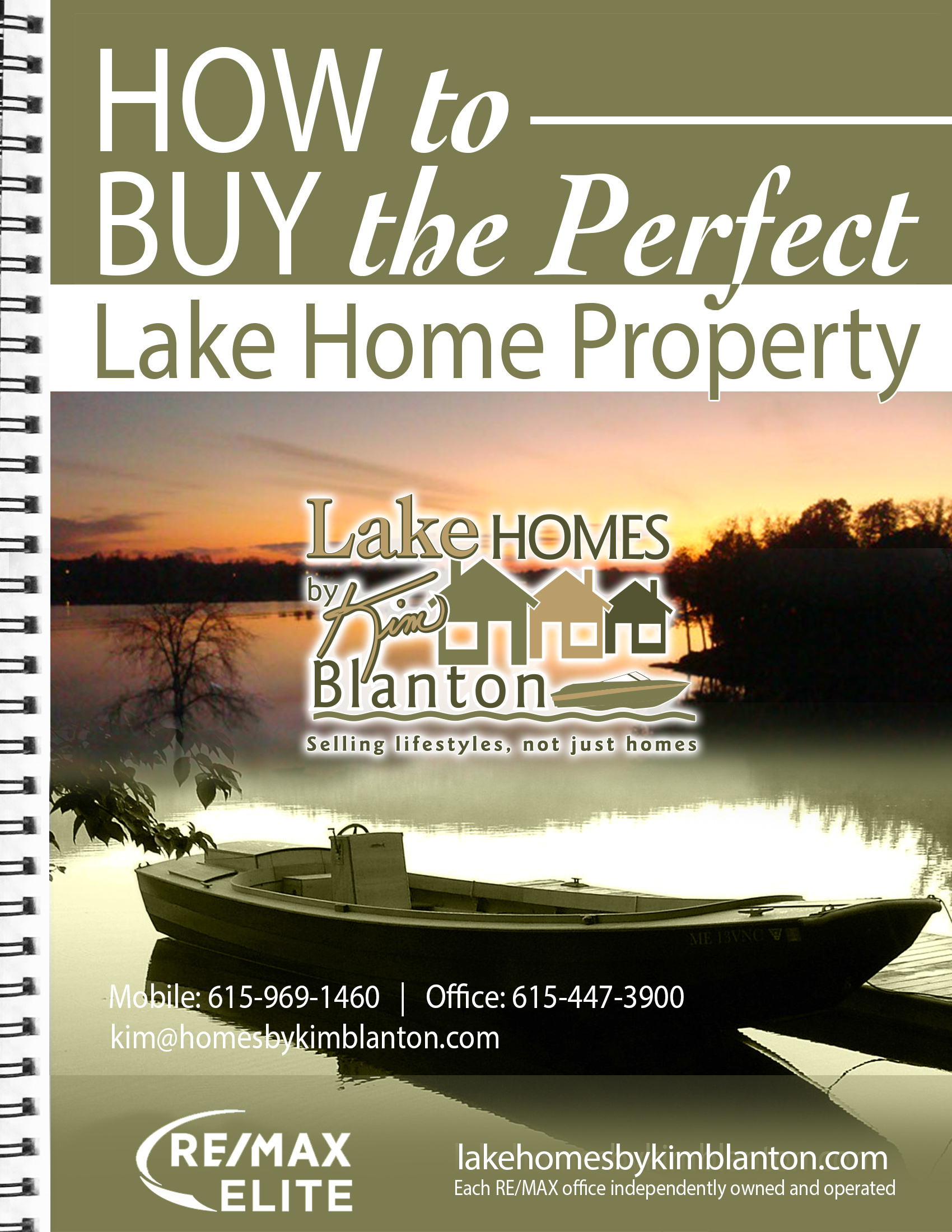 How to Buy the Perfect Lake Home ebook