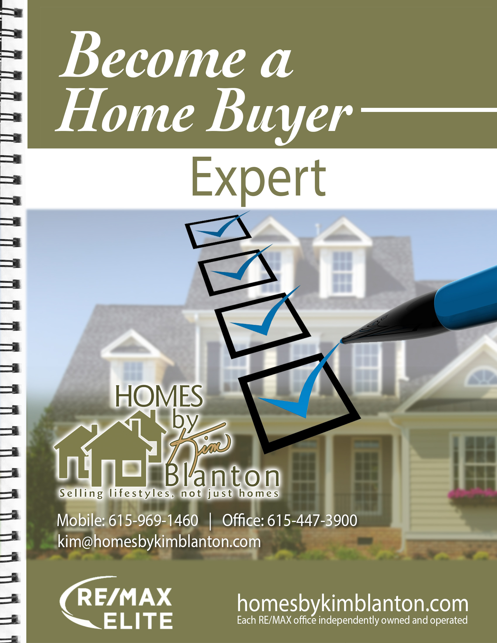 How to become a home buyer expert ebook