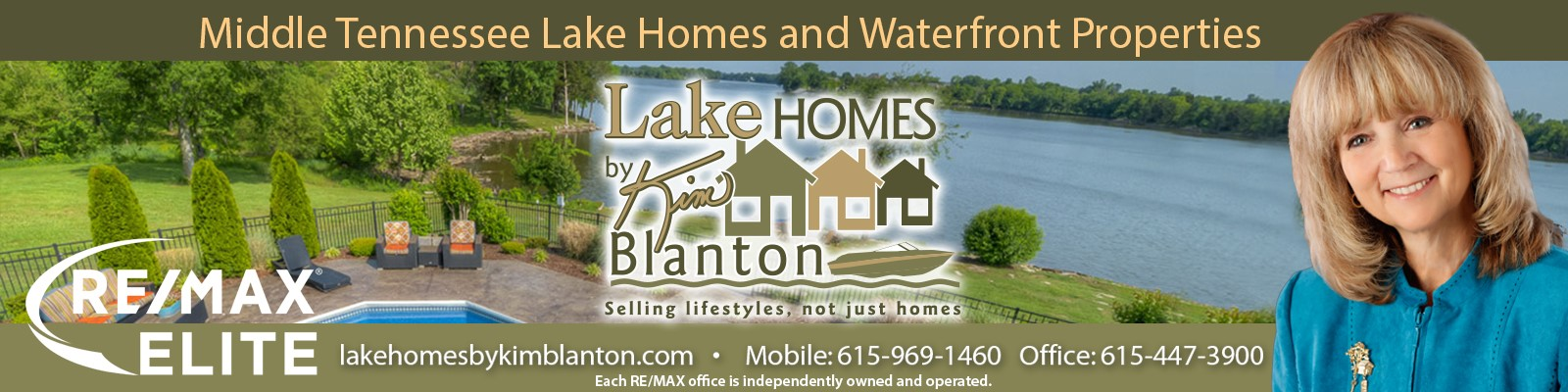 Kim Blanton presents Lake Homes in Middle TN