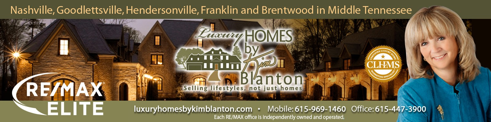 Kim Blanton presents Luxury Homes in Middle TN